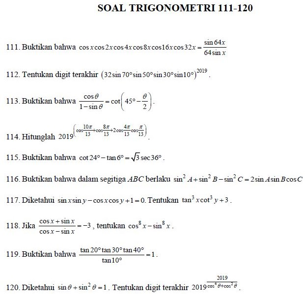 Capture Trig 111-120